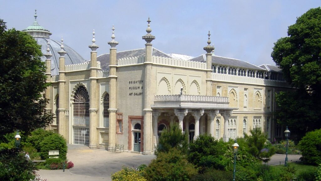 Photo of the exterior of Brighton museum and art gallery